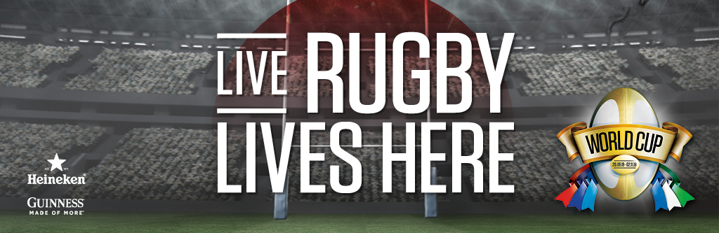 Live Rugby at The Railway