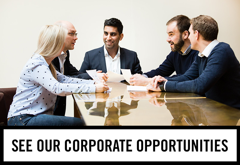 Corporate opportunities at The Railway
