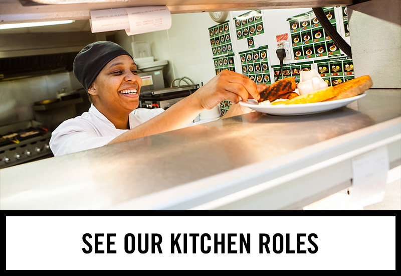Kitchen roles at The Railway