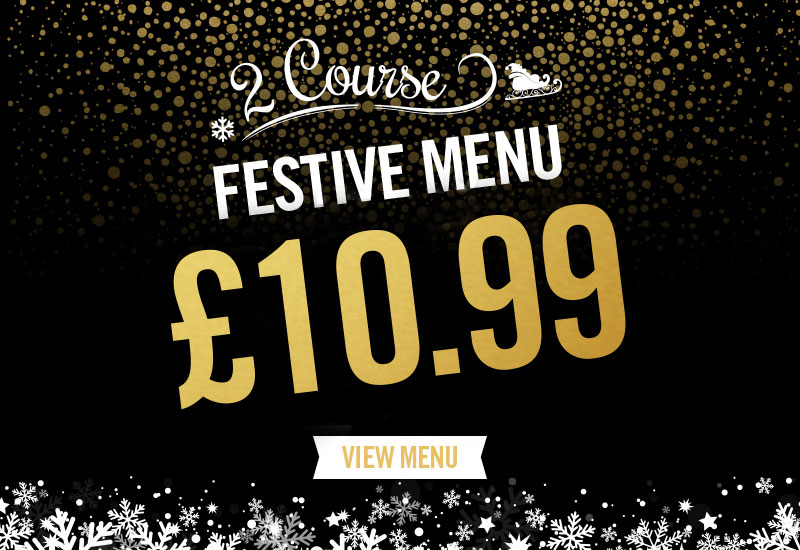 Festive Menu at The Railway