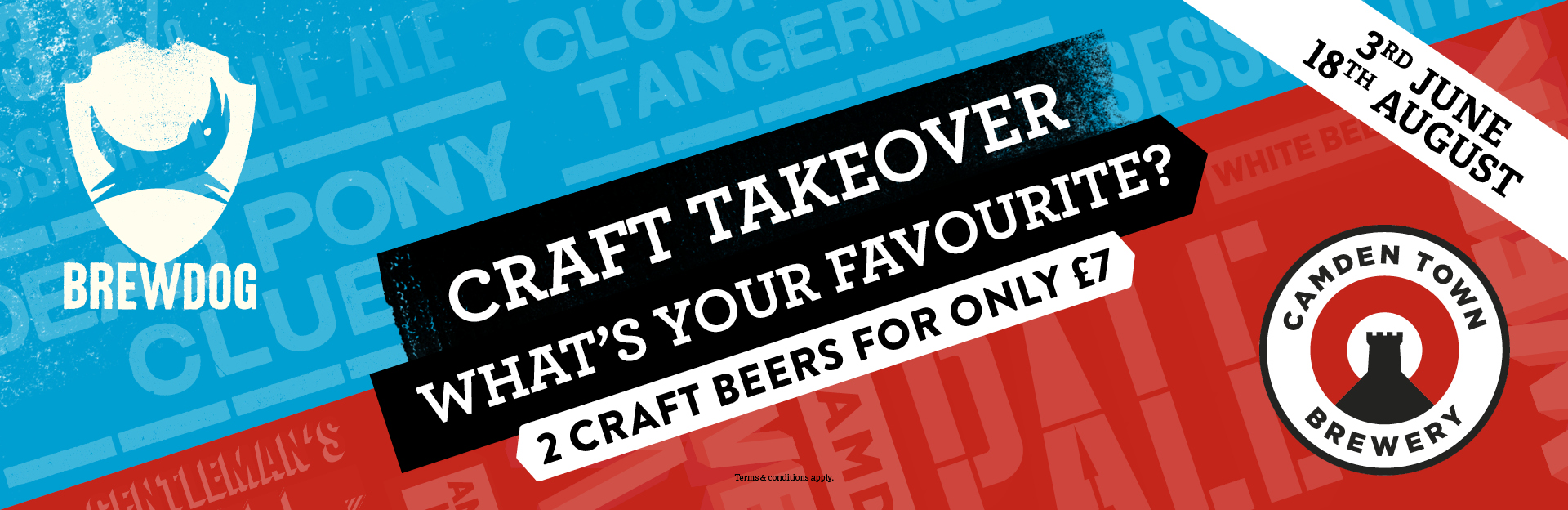 Craft Takeover at The Railway